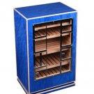 Elie Bleu Madrona  Blue Sycamore Cabinet Humidor