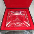 MONTECRISTO  SIGNATURE CRYSTAL ASHTRAY