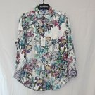 Robert Graham - Colorful Long Sleeve | Size: M | Style: Broken Blossom | NWT