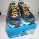 "Hoka One One Bondi 6 Black Iris / Storm Blue  Men's Sneakers Size 12.5"" M Width"