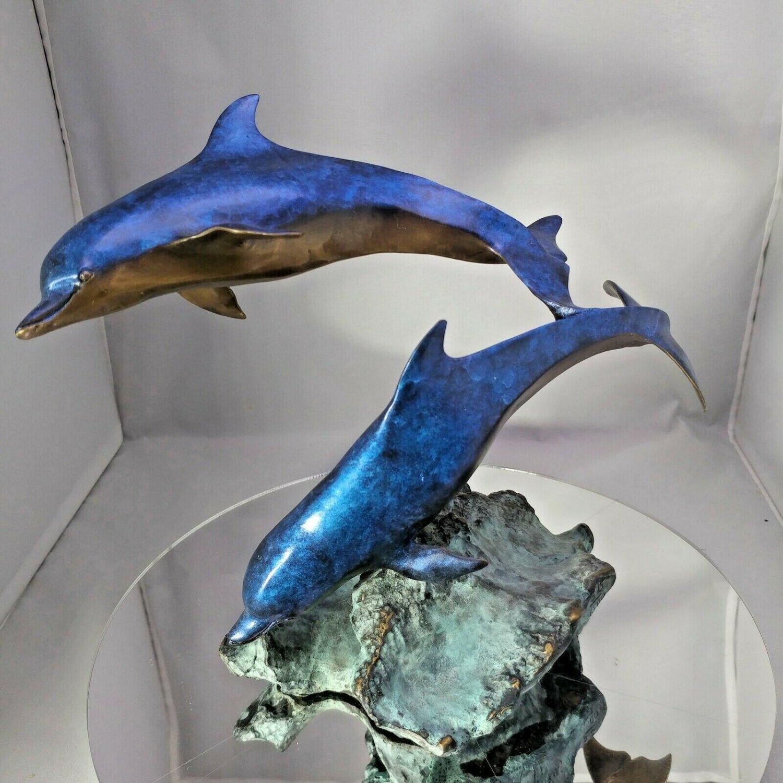 Mark Hopkins - Limited Edition Bronze Dolphin Sculpture