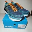 "Hoka One Bondi 6 Black Iris / Storm Blue Running Men's Athletic Shoes 12.5"" M"