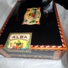 Elie Bleu  Alba Black Sycamore Humidor 110 count