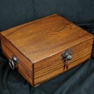 """Brizard and Co The """"Royal Oak Collection"""" Humidor - Golden Oak (60/70 Count) USA"""