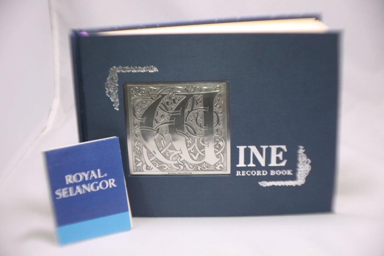 Royal Selangor Wine Record Book 017170R
