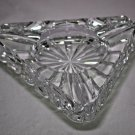 Waterford Crystal  Ashtray with 3  Slots With FREE SHIPPING IN USA