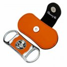 """Bizard and Co. - The """"V"""" Cutter - Orange Leather"""