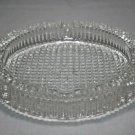 "Round Glass Cigar Ashtray 5"" Diameter with FREE SHIPPING IN USA"