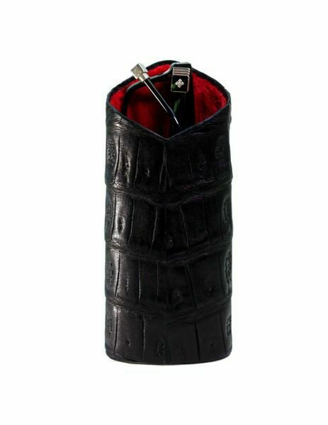 Bizard and Co. - The Luxury Eyewear Stand - Genuine Black Caiman