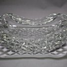 "Waterford Curved Crystal Ashtray - 7"" x 4.5"" x 2"""