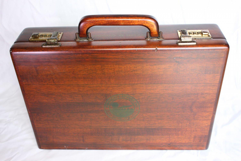 Custom Wood Briefcase