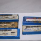 Assorted Carbide Inserts of Partially Filled Boxes   Kit #016