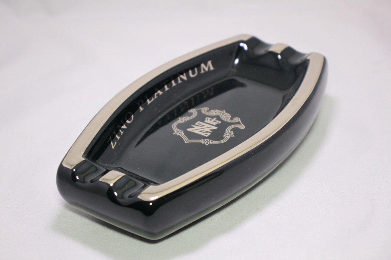 "Zino Platinum Ashtray 9.5"" L x 5.25"" W   FREE SHIPPING IN USA"