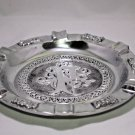 "Diesel  Pewter Ashtray 9"" Diameter with FREE SHIPPING IN USA"