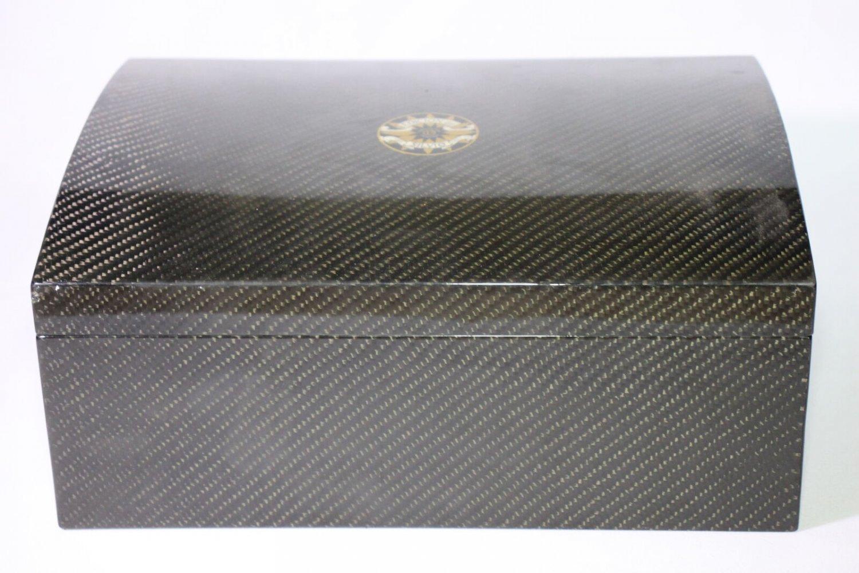 Tabacalera Perdomo - Edicion de Silvio - Carbon FIber Humidor Showroom Model