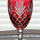 Faberge Odessa Gold Ruby Iced Beverage Glass