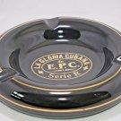 La Gloria Series R Black Ceramic Ashtray