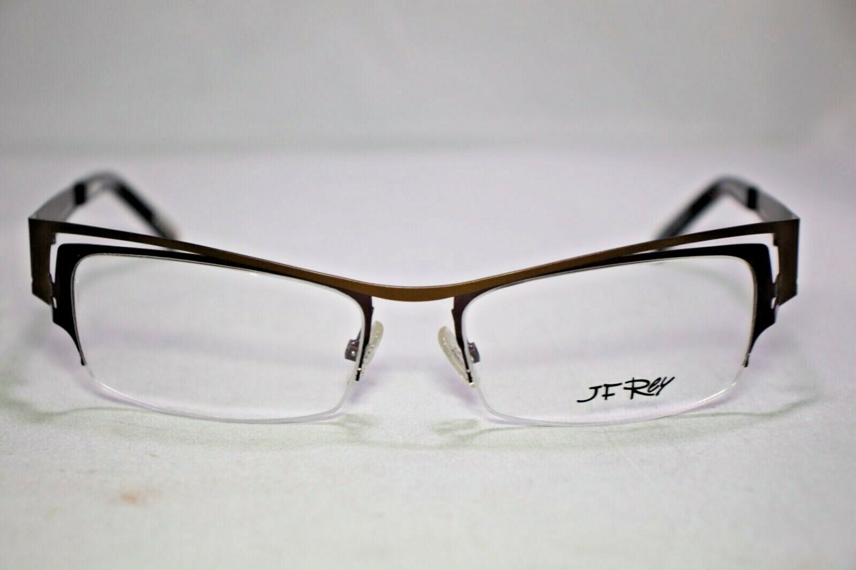 Women's - J F  Rey JF 2374 Eyeglasses by J.F. Rey Color 9270 Brown / Blueberry