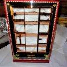 Elie Bleu Alba Black Sycamore Cabinet Humidor Ready to Ship