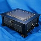 """Brizard and Co. - The """"Chesterfield"""" Humidor - 60/70 Count (Black) NIB USA"""