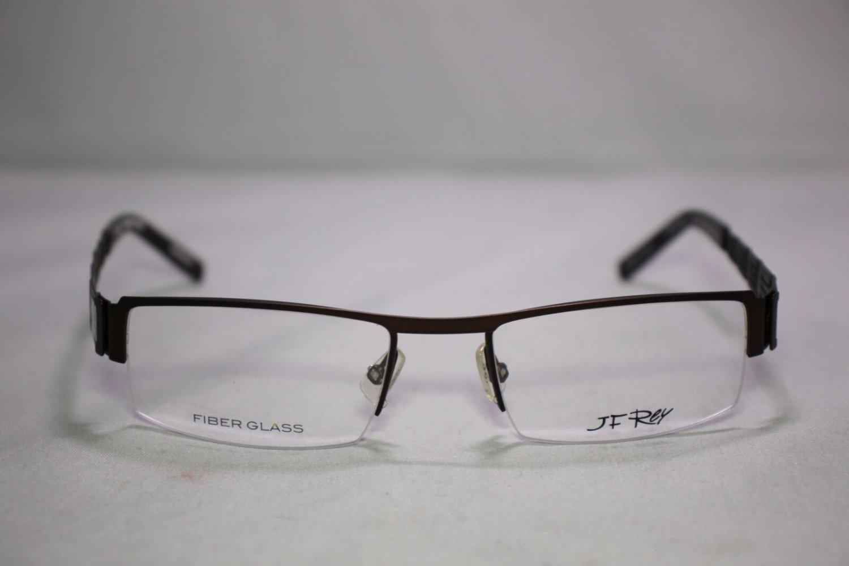 Men's - J.F. Rey JF 2410 Eyeglasses by J.F. Rey Color 9010 Matt Brown/Fiberglass