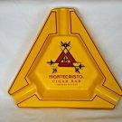 Montecristo- Stunning Cigar Ashtray (Yellow)