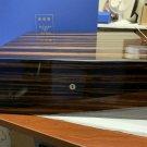 Elie Bleu Macassar Ebony Wood Humidor 200 count