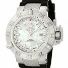 Invicta 0737 Subaqua Noma III GMT White Mother-Of-Pearl -No Band & needs battery