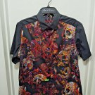 Robert Graham - Black Short Sleeve - Men's Medium Button Down Classic Fit