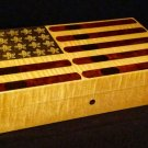 Elie Bleu Ltd Edition Stars and Stripes Humidor 110 ct  Numbered :  22 /250