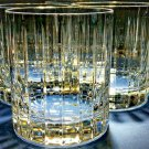 Faberge Atelier Crystal Collection Old Fashion Glasses set of 4 NIB