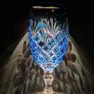Faberge  Odessa Sky Blue Colored Crystal Ice Tea Water Glass