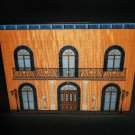Elie Bleu Orange Palace 110 count Made in France NIB
