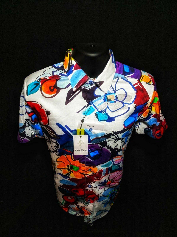Robert Graham - Colorful Short Sleeve - Men's Classic Fit  Medium Adult