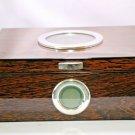 "Wood Humidor Lined with Cedar Showroom Model 11 3/8"" L x 8 3/4"" W x 4 1/2"" H"