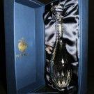 Fabergé Bristol Clear Crystal Decanter NIB