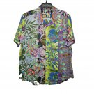Robert Graham - Colorful Short Sleeve - Men's  XXL Button Down Classic Fit