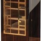 Elie Bleu Macassar Ebony Wood Cabinet Humidor