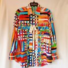 Robert Graham - Valley of Kings Colorful Long Sleeve - Men's  Classic Fit Size L