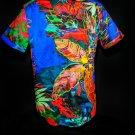 Robert Graham Cannon Beach Colorful Large Short Sleeve Shirt