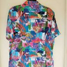 Robert Graham Himalayas  Short-Sleeve Abstract-Jungle Classic Fit Shirt
