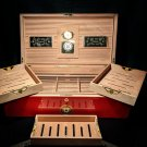 Perdomo 20th Anniversary Red humidor 200 count capacity