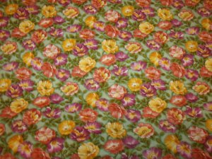Blooming Colors (01273)  Cotton Fabric  from Benartex 1  yd