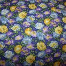 Blooming Colors (01274)  Cotton Fabric  from Benartex 1/ 2 yd