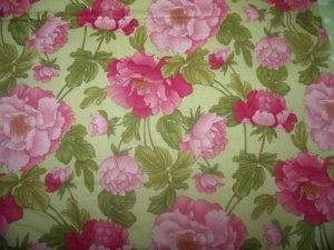 Charlotte  Cotton Fabric  from Benartex 1/ 2 yd
