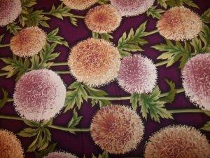Flower Show 11 (03018)  Cotton Fabric  from Benartex 1/ 2 yd
