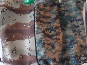 Child /Adult Drawstring School ,Library,Toys All Purpose Camouflage Backpack Bag