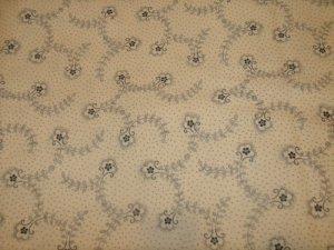 Heriatge Prints  Cotton Fabric  from Benartex 1/ 2 yd