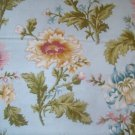Flora and Fauna Blue Sky (0351750)  Cotton Fabric  from Benartex 1/ 2 yd