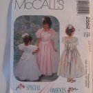 McCall's  Girl's Dress Pattern 2552 - New ,size  2,3,4
